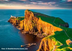 Auf Hoher See Mit Der Ms Albatros England Schottland Irland
